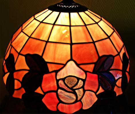 Una lampada Tiffany