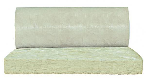 Alfombrilla aislante de lana de vidrio Isover EVO 4+