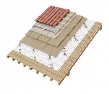 Pacchetto di copertura per tetti ventilati di Isover