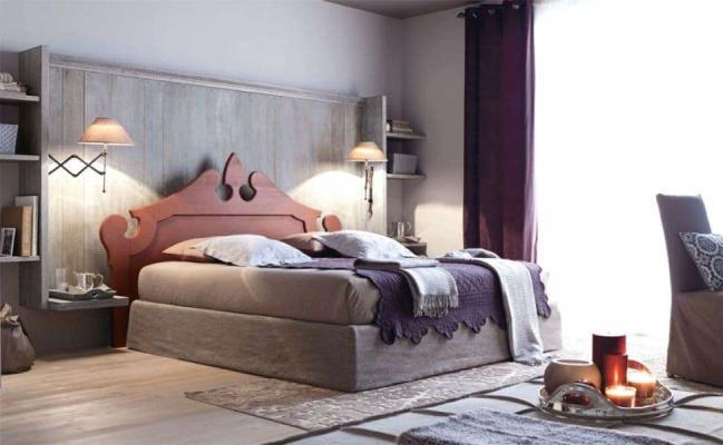 Camera da letto in legno Royal - Scandola