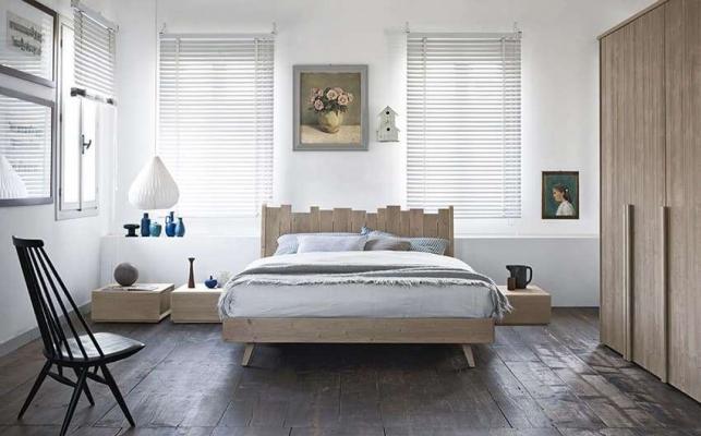 Camera da letto in legno Maestrale Scandola