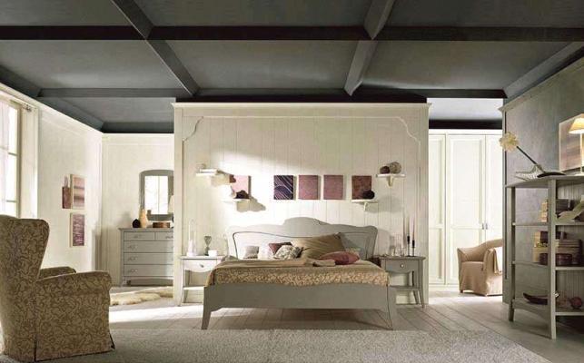 Camera da letto in legno Nuovomondo - Scandola
