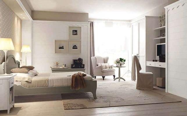 Camera da letto in legno Nuovomondo Scandola