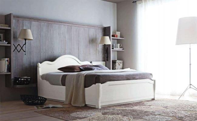 Camera da letto in massello Tabia - Scandola
