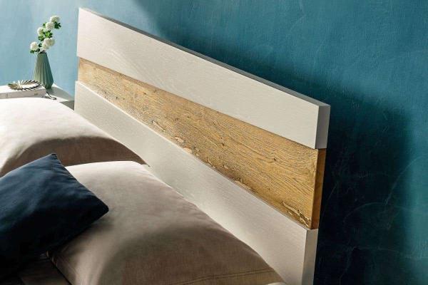 Camera da letto in legno naturale Napol