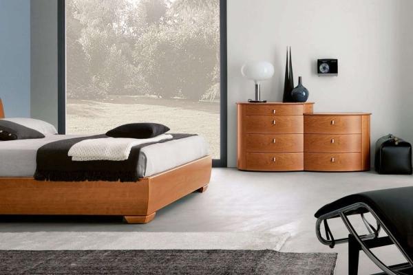 Camera da letto in legno Magnus Cemi Napol