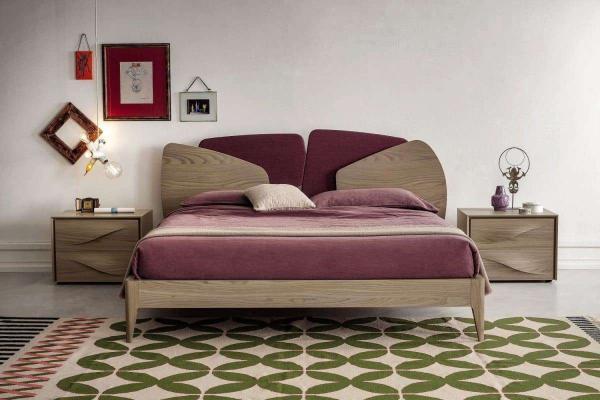 Camera da letto in legno Stone Fontana Napol