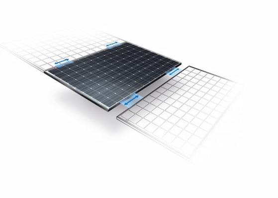 Pannelli fotovoltaici, modello Hit Powerful, Panasonic