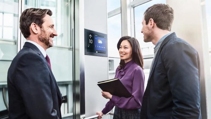 Dettaglio tecnologia ascensori DX Class di KONE