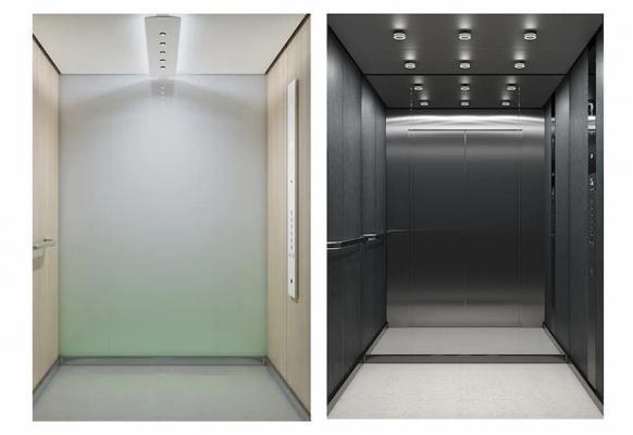 Interni cabine ascensori DX Class di KONE, Natural Wellness