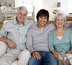 A casa con i genitori