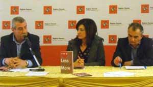 Immagine dalla conferenza stampa