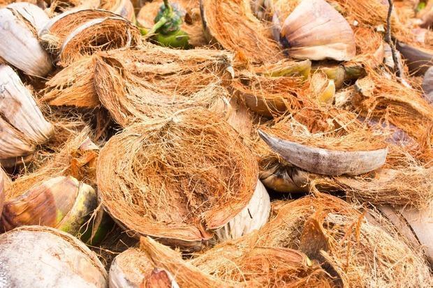 Isolare con la fibra di cocco