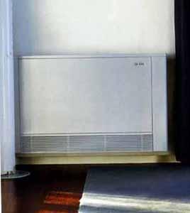 Un impianto di condizionamento alternativo: L'unità radiante dal design essenziale