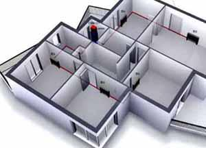 Un impianto di condizionamento alternativo: uno schema d'impianto con Ciller