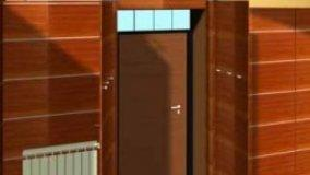 Porta trasformata in armadio