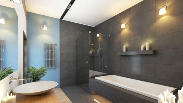 illuminare il bagno, Disegni interni