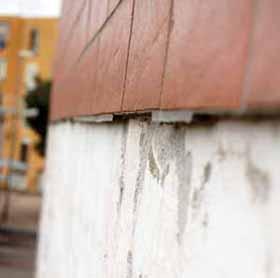 I distacchi dei rivestimenti di facciata: le fughe prive di distanziatori