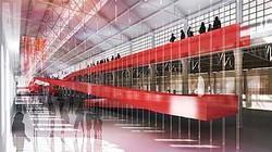 Torino_ OGR. Rendering progetto di allestimento.