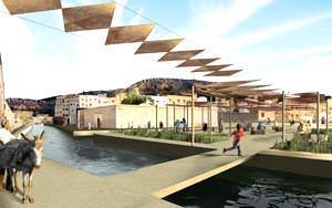 Holcim Award Gold: River remediation and urban development scheme - A.Chouni ( Image source: www.holcimawards.org )