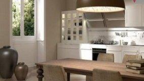 Arredamento  New Romantic in cucina