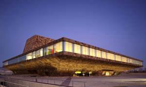 Centro Culturale e Congressuale La Llotja: vista esterna ( image source: www.mecanoo.nl )