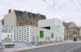 Magdeburgo_ Area dopo la realizzazione dell' Open Air Library.