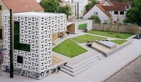 Magdeburgo_ Open Air Gallery. Karo e Architektur+Netzwerk.