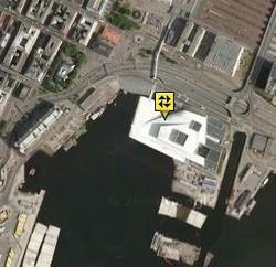 Oslo. Area dell'intervento.