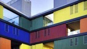 Edilizia sociale a colori