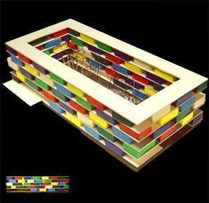 Plastico del progetto di concorso ( imagesource: www.amann-canovas-maruri.es )