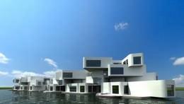 Citadel_ Rendering.Architect Koen Olthuis-Waterstudio.NL