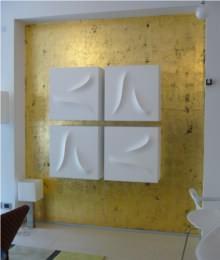 Mape Decorazioni foglia oro