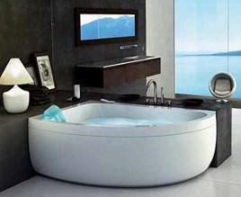 Vasche angolari - Vasca da bagno angolare misure ...