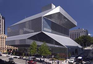 Biblioteca centrale di Seattle ( imagesource: www.spl.lib.wa.us )