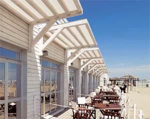 Beach resort e terme-realizzato con sistema costruttivo di Moretti Interholz