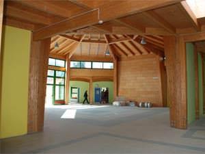 Scuola materna realizzata con sistema costruttivo di Mattarei
