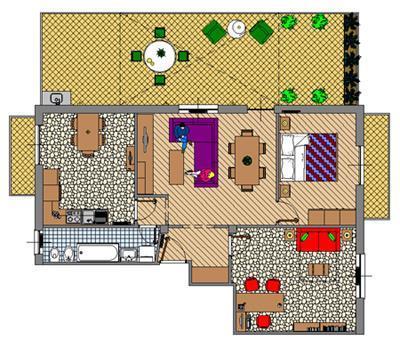 Appartamenti con terrazzo: progetto
