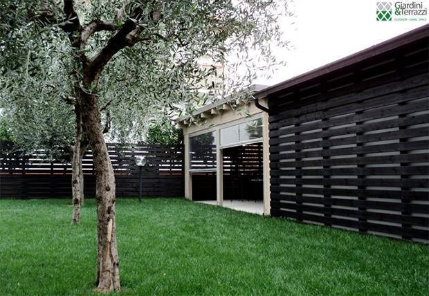 Giardini&Terrazzi: copertura in legno pompeiana