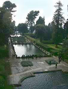 Giardini di Villa d'Este a Tivoli