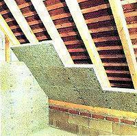 Come isolare una mansarda dall interno fibra di ceramica - Isolare il tetto dall interno ...