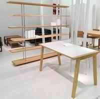 Linfa Design_ tavolo Pigreco, libreria Ubiqua
