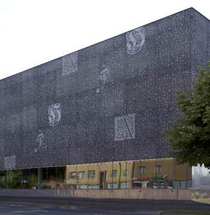 Archivio Provinciale di Hameenlinna: vista esterna (image source: www.graphicconcrete.com)
