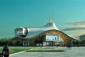 Centro Pompidou a Metz ( image from www.jdg-architectes.com )