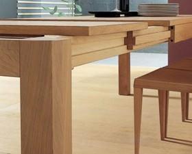 cucine in legno - Tavolo Cucina Legno Massello