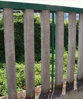 Il recupero di vecchie recinzioni :l'intervento finale di recupero della recinzione