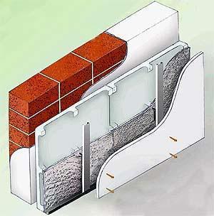 Le contropareti isolanti di facile posa : particolare del pannello Ower Wall