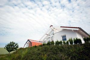 Casa Biosolare, esterno