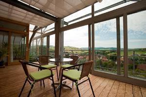 Casa Biosolare, veranda