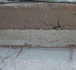 Come realizzare riprese strutturali resistenti : la nuova soletta con il nuovo massetto dell pendenze
